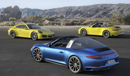 Porsche 911 Carrera 4 y 911 también Targa 4 2018: los tracción total también 911 cb131e
