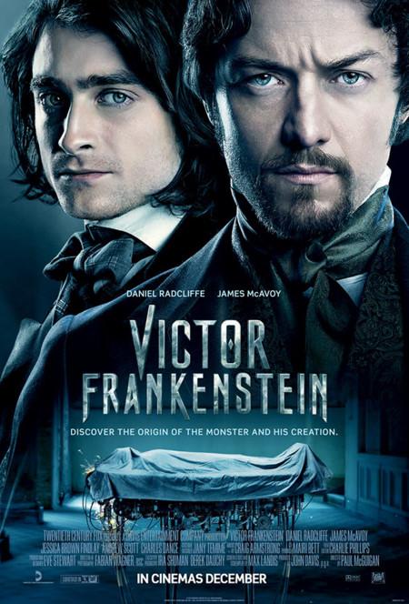 Otro póster de Victor Frankenstein