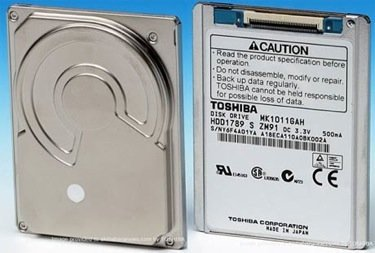 ¿Nuevos discos duros para el iPod?