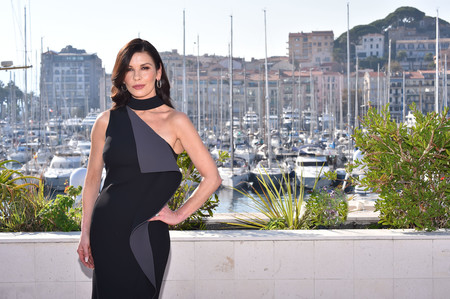 Actress Catherine Zeta Jones At The Mipcom Opening Party In Cannes France