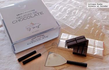 Delicias de chocolate de Trish Deseine. Libro kit de cocina