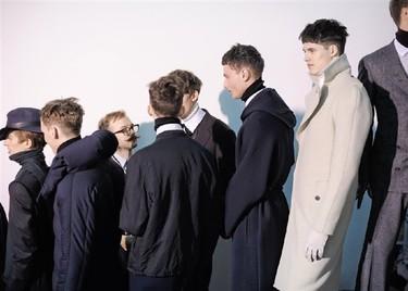 Lanvin Otoño-Invierno 2011/2012 en la Semana de la moda de Paris, las fotos de backstage