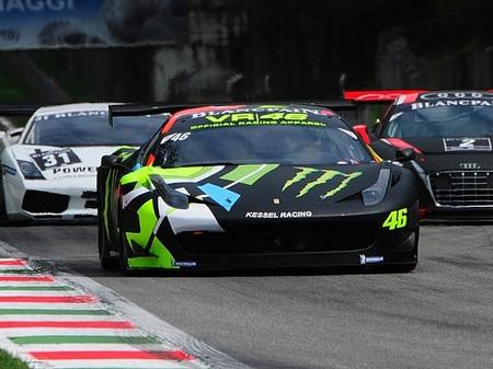 Valentino Rossi volverá a competir con un Ferrari 458 Italia