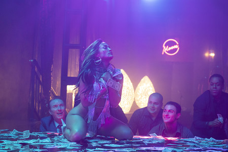Estafadoras De Wall Street Con Jennifer Lopez Pole Dance