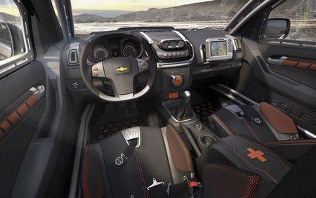 Chevrolet Colorado Rally Concept interior