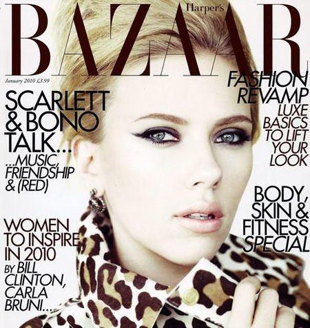 Scarlett Johansson protagoniza una portada espectacular