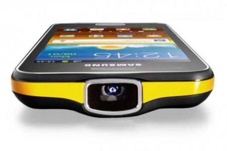 Samsung Galaxy Beam, Android con proyector integrado