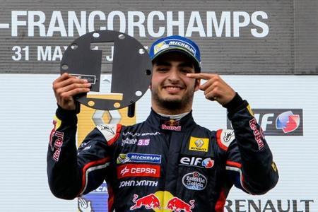 Carlos Sainz Jr - Spa 2014 Fórmula Renault 3.5