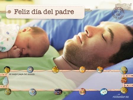 """La aplicación """"recmember me"""" para felicitar al mejor padre del mundo"""