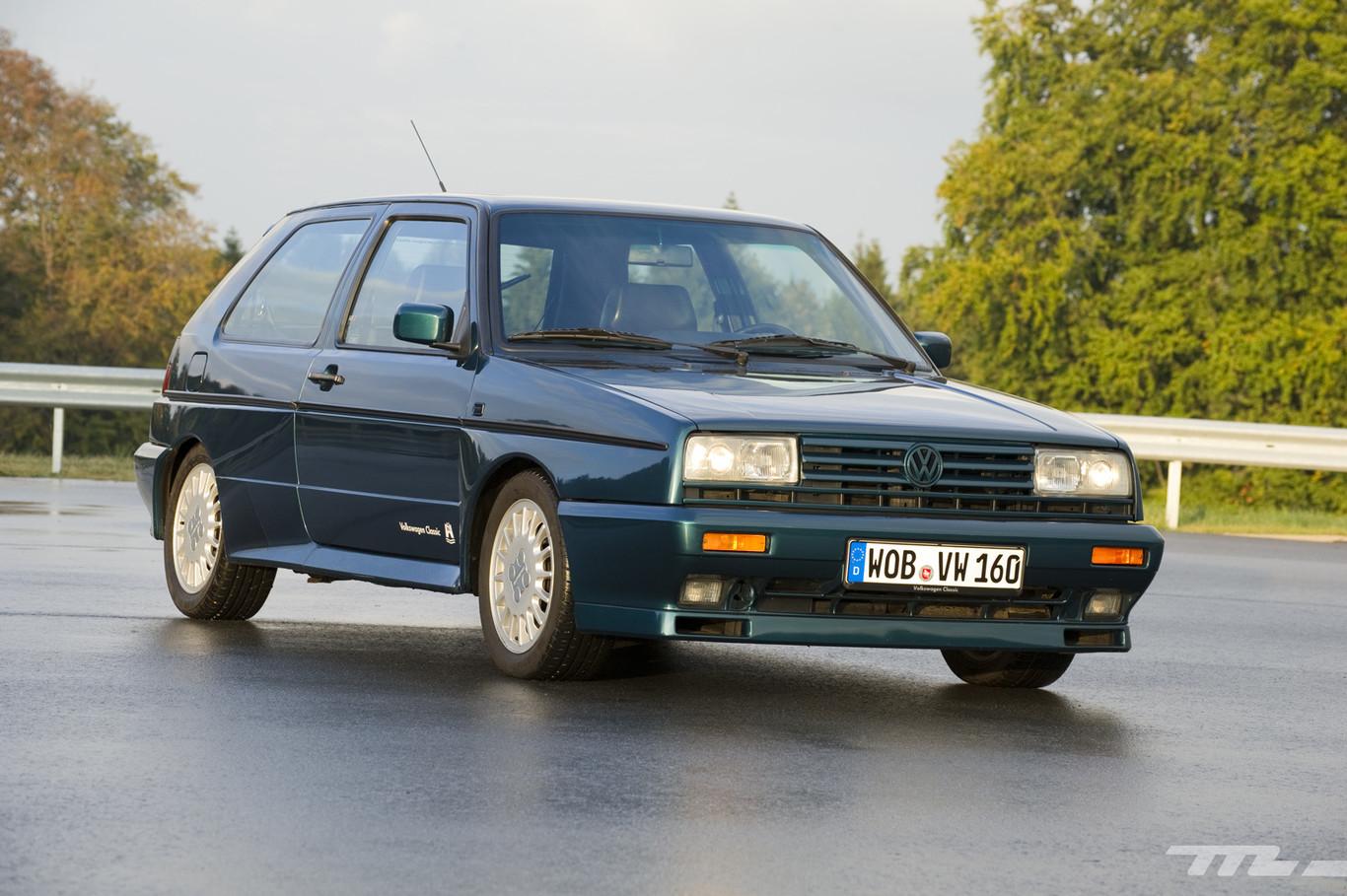 Volkswagen Golf Ii G60 Rallye Al Volante De Un Exclusivo Golf Del