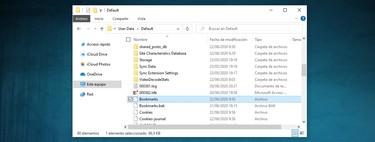 Dónde se guardan los marcadores de Chrome, Firefox y Edge