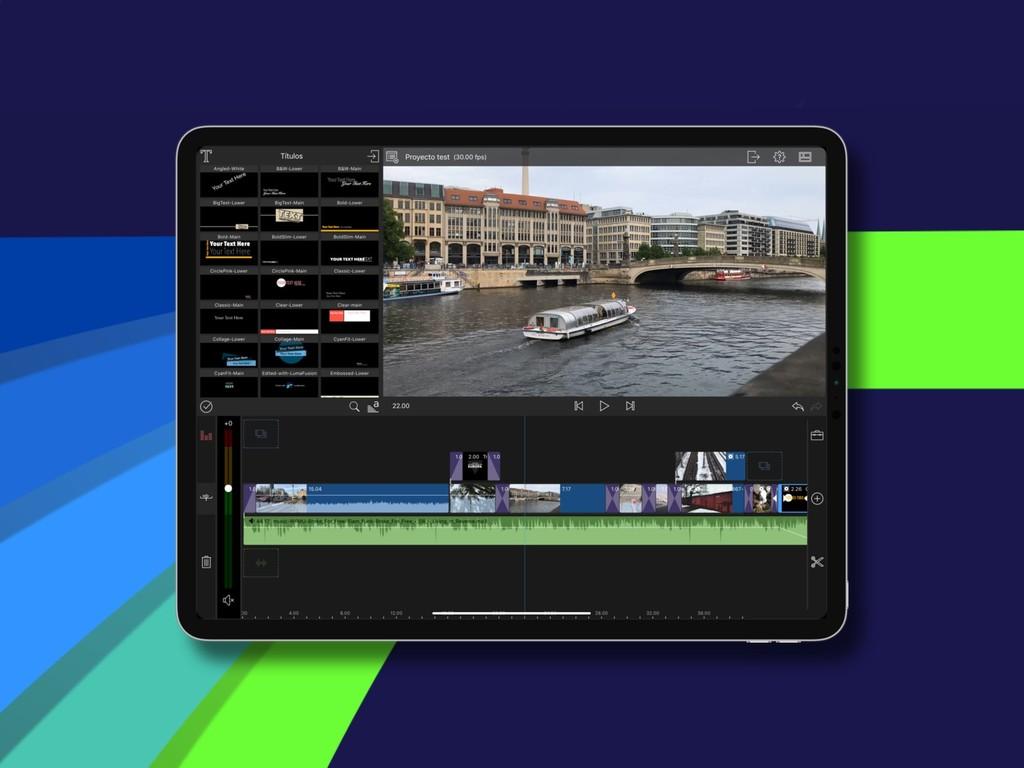 ¿Quién dijo trabajo profesional? Así se editan vídeos 4K y música en un iPad Pro de 2018
