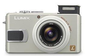 Lumix DMC-LX2, 10 megapíxeles en dos colores
