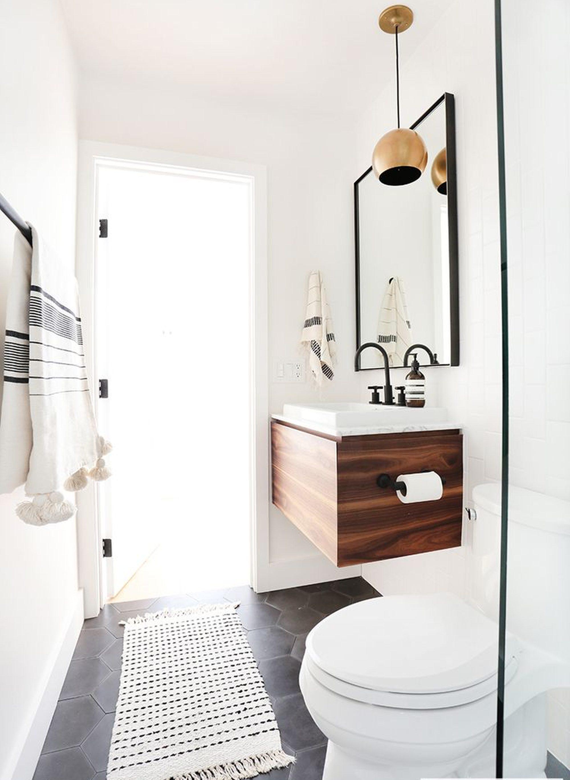 Baño Pequeno Original:grandes ideas para renovar baños pequeños