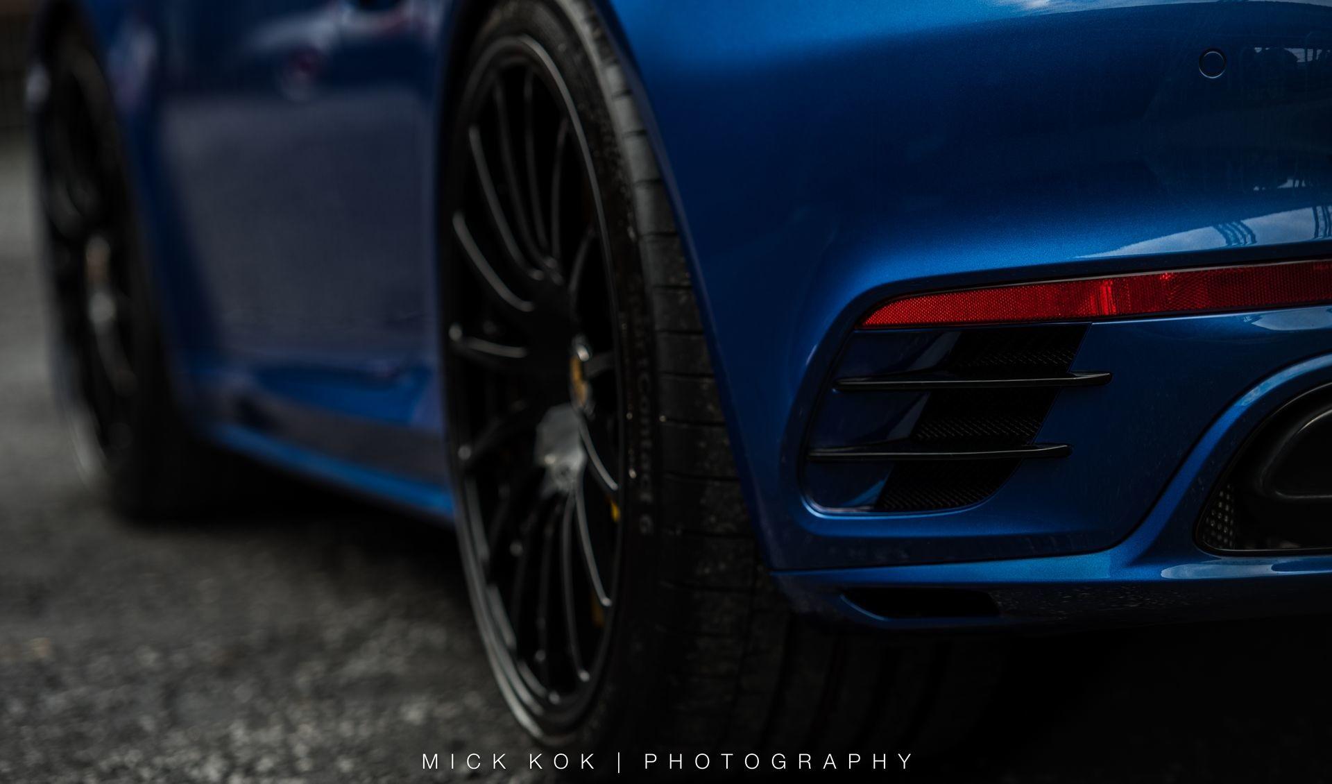 Foto de Porsche 911 Turbo S Blue Arrow (10/25)
