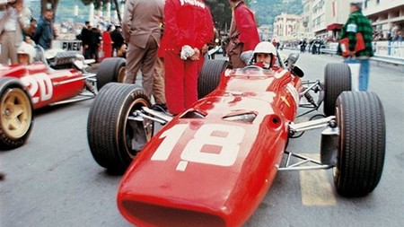 Bandini Ferrari Monaco F1