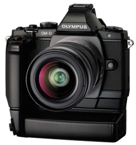 Así es la Olympus OM-D E-M5