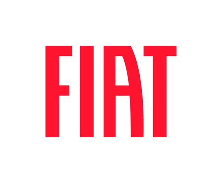 Fiat Logo Rojo