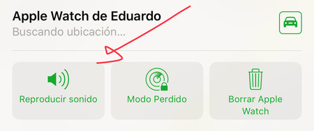 Reproducir sonido Apple Watch