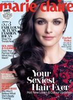 Rachel Weisz encantadísima de conocerse en la portada de Marie Claire
