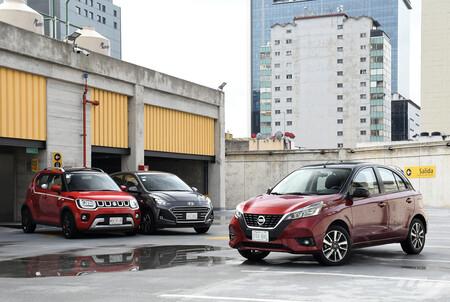 Nissan March Vs Hyundai Grand I10 Vs Suzuki Ignis Comparativa Opiniones Mexico 4