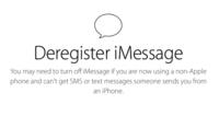 Apple lanza herramienta para desenlazar iMessage de un número celular