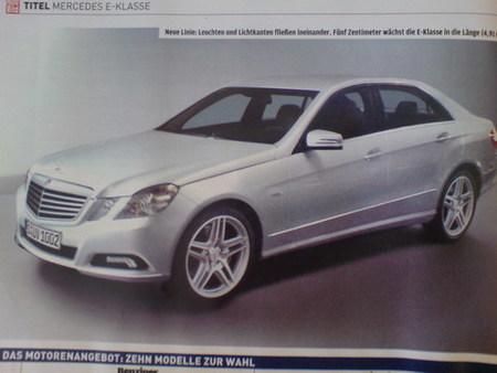 Nuevo Mercedes Clase E, recreaciones realistas