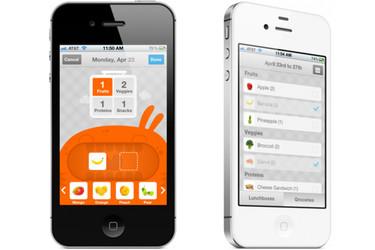 LaLa Lunchbox, una aplicación para que los niños elijan su almuerzo equilibrado