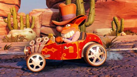 Crash Team Racing Nitro-Fueled nos permitirá personalizar a los personajes y sus karts con una amplia variedad de elementos