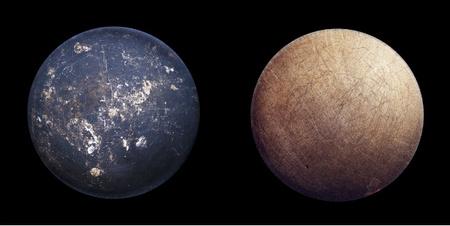 ¿Son planetas? No, sartenes estropeadas