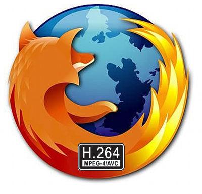 Mozilla apoyará H.264