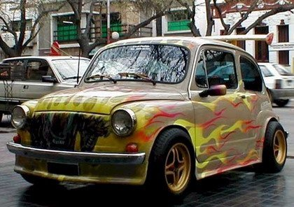 Un Fiat 600 Tuning