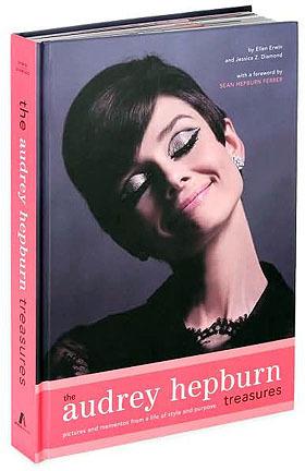 Un libro de lujo: Los tesoros de Audrey Hepburn