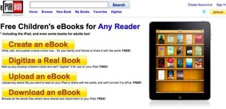 ePub Bud: el YouTube de los libros infantiles