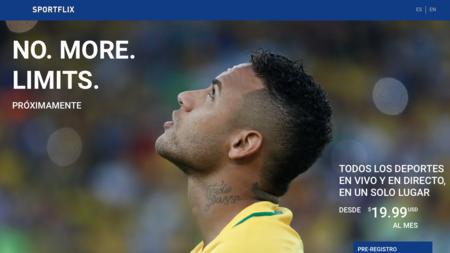 Así es Sportflix, la nueva plataforma que quiere ser el Netflix de los deportes
