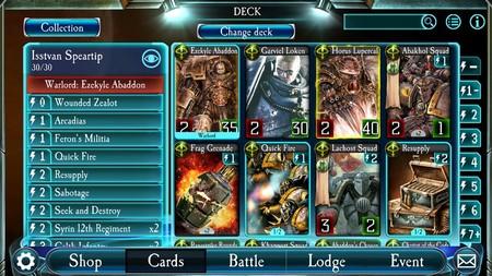 Warhammer Legions Juego