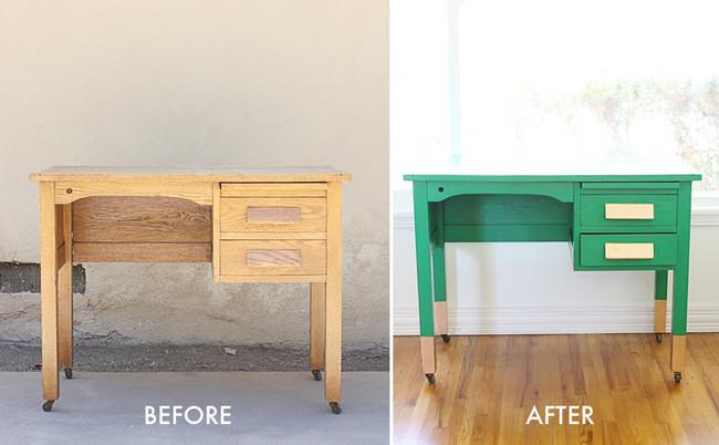 Before After Desk