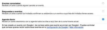 Email Agenda