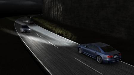 Audi incorporará en el A8 el sistema LED Matrix en 2014
