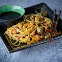 Noodles con curry al estilo Singapur: receta para una cena al más puro estilo asiático