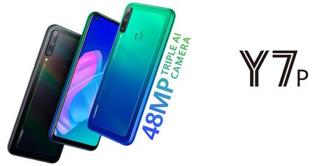 Huawei Y7p: con triple cámara, pantalla perforada y sin los servicios ni apps de Google