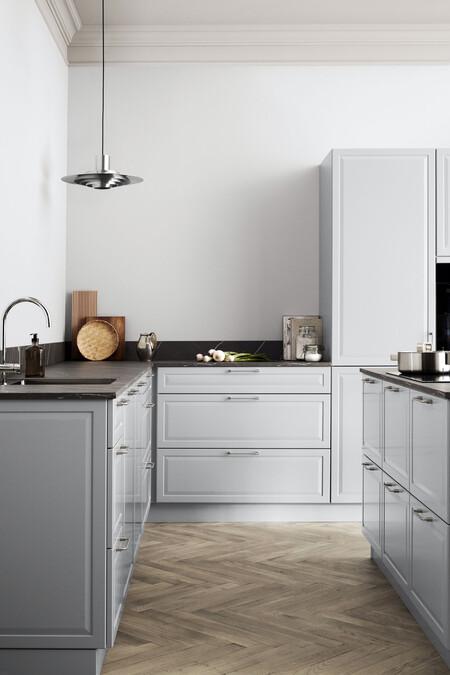Kvik Kitchen Pavia Pure Grey Half Total