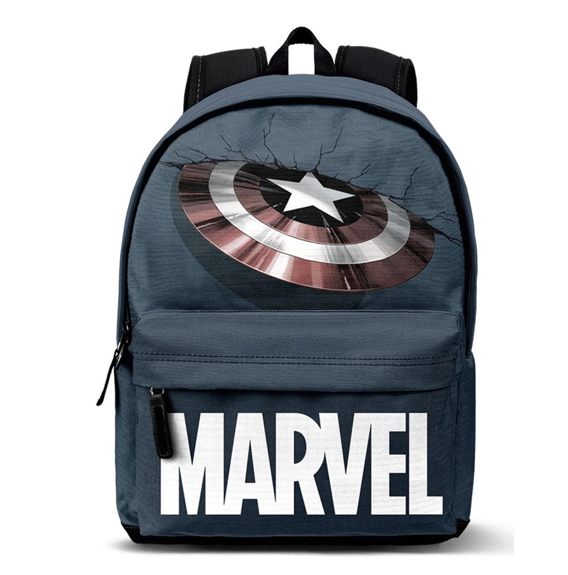 KARACTERMANIA  Mochila High School Marvel Capitán América Impact Karactermanía Azul