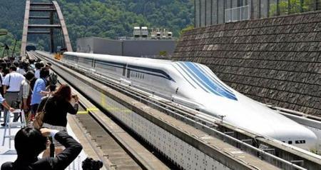 Tecnología del transporte: En Japón podrán ir a 500 Km/h......¡en tren!
