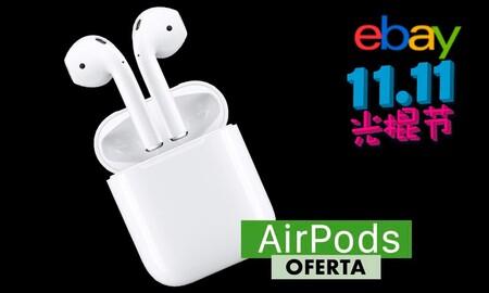 Por el 11 del 11, llévate los AirPods de Apple por 111,11 euros en eBay