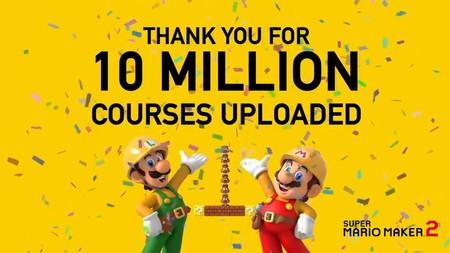 Super Mario Maker 2 aumenta su límite de fases para compartir tras llegar a los 10 millones de niveles creados
