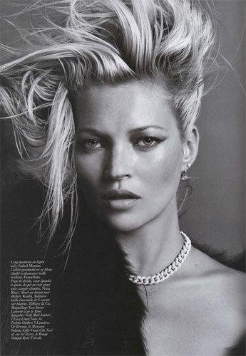Foto de Kate Moss para Vogue París (8/10)