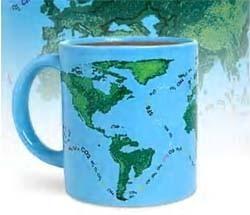 El efecto del calentamiento global en tu taza