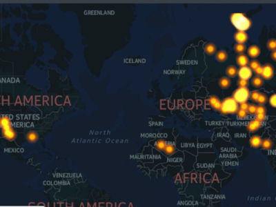 2.010 bombas en siete décadas: el mapa de todas las detonaciones nucleares de la historia