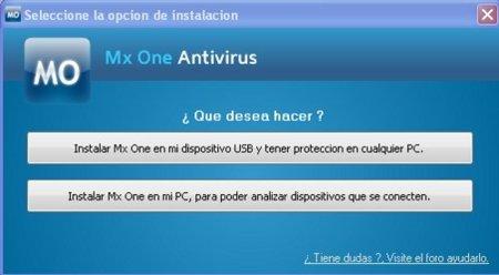 MXOne, antivirus para dispositivos externos